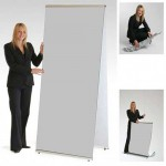 Quick Banner Stand Double Sided